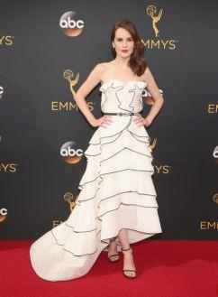 Michelle Dockery veste Oscar de la Renta