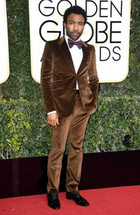 Donald Glover usando Gucci. Foto: Frazer Harrison / Getty Images.