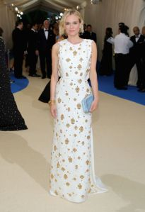 Diane Kruger vestindo Prada